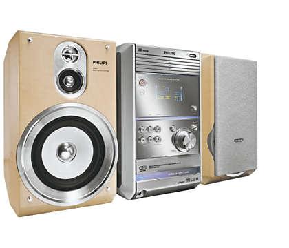 MP3-Musik vom PC kabellos fernbedienen