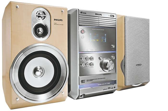 Fjärrkontrollera MP3-musiken från datorn trådlöst