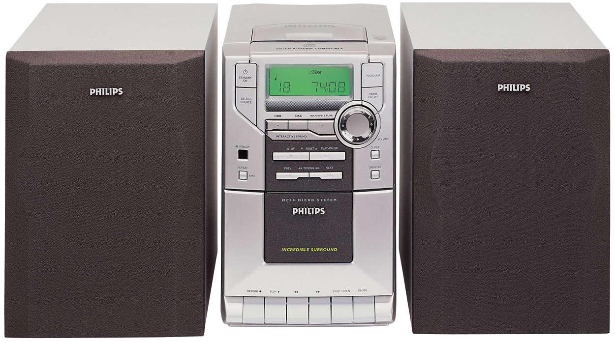 MICRO AUDIO SYSTEM and UK PLUG