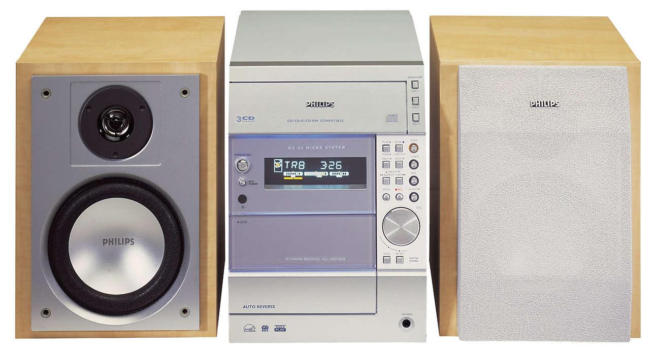 Měnič 3 disků CD