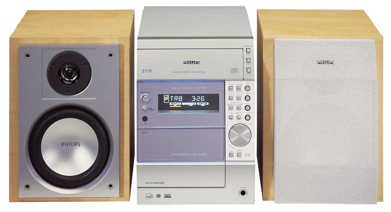 Philips Micro Hi-Fi System MC-50