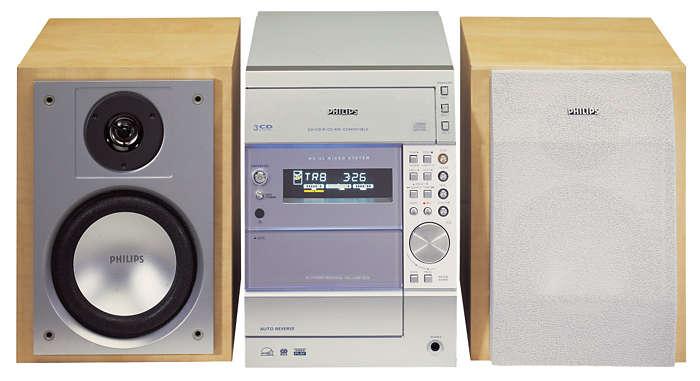 Cambiador para 3 CD