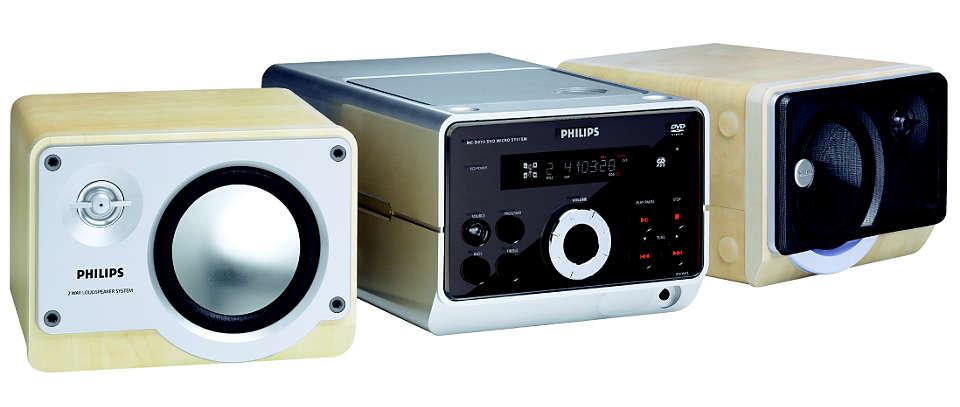 Riproduzione di DVD, VCD e CD-MP3