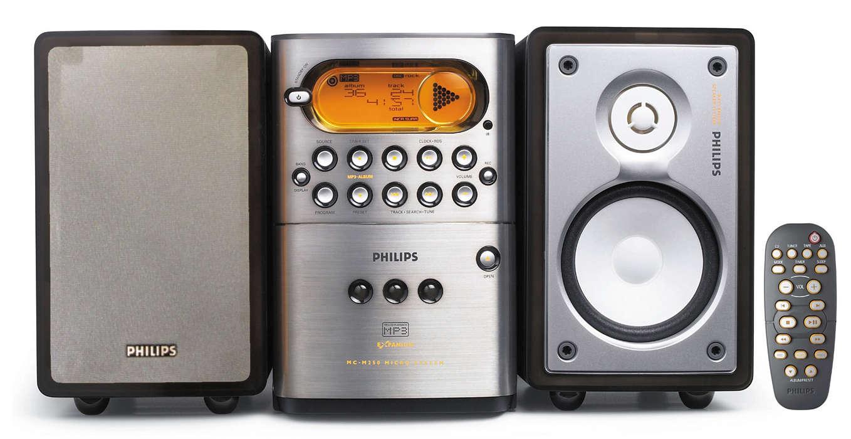 Reprodução CDs MP3