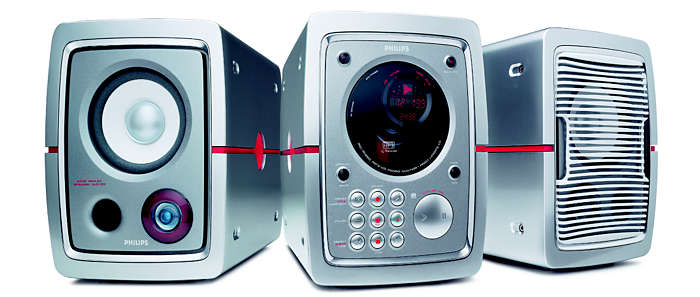 Play MP3-CDs in Sophisticated Style
