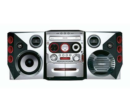 Hudba MP3 z počítače na dálkové ovládání
