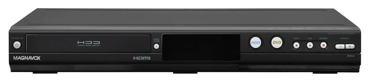 Enregistreur DVD avec disque dur de 500Go