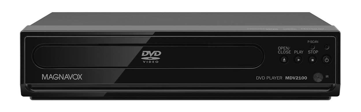 Lecteur DVD avec balayage progressif