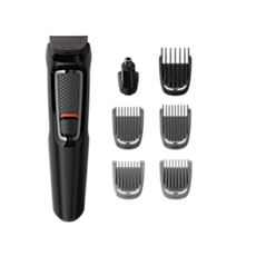 MG3720/13 -   Multigroom series 3000 7-in-1, Face and Hair