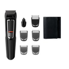 MG3720/15 Multigroom series 3000 7-in-1, Face and Hair
