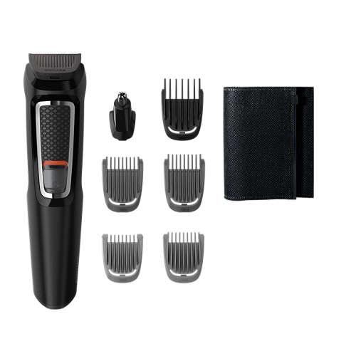 Multigroom series 3000 7 in 1, Barba e capelli