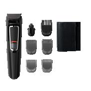 Multigroom series 3000 7'si 1 arada, Yüz ve Saç