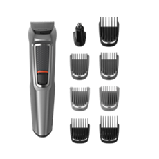 MG3722/33 -   Multigroom series 3000 9-in-1, Face and Hair