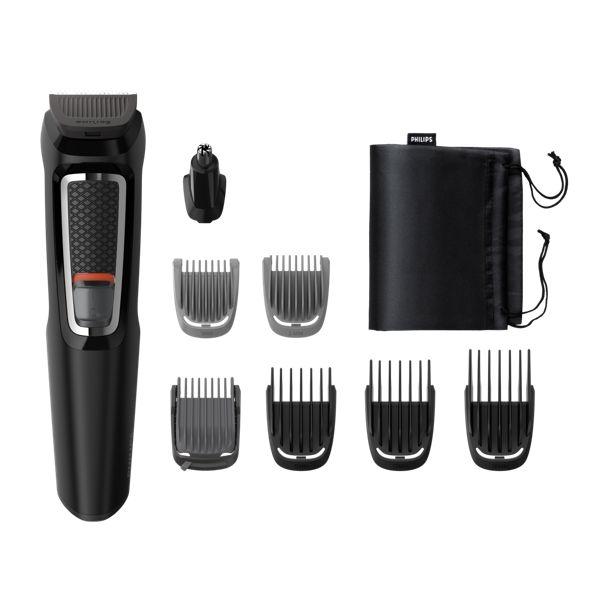 Philips MG3730/15 Philips Multigroom series 3000 Zastřihovač vousů, vlasů, nosních a ušních chloupků