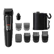 MG3730/15 Multigroom series 3000 8-σε-1, Πρόσωπο και μαλλιά