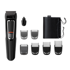 MG3730/15 Multigroom series 3000 8-en-1 Visage et Cheveux