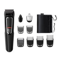 Multigroom series 3000 9-i-1, groomingsett for ansikt og hår