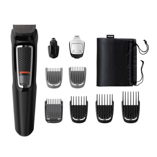 Multigroom series 3000 9-i-1, grooming kit för ansikte ochhår