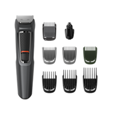 MG3747/13 Multigroom series 3000 9-in-1, Face, Hair and Body
