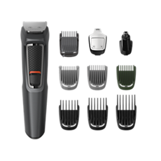 MG3747/33 Multigroom series 3000 10-in-1, Face, Hair and Body