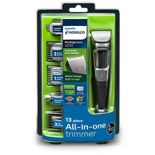 Norelco Multigroom 3000 multipurpose trimmer