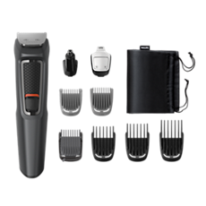 MG3757/15 Multigroom series 3000 9 in 1, Barba e capelli