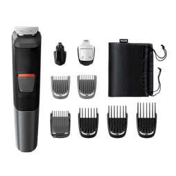 Multigroom series 5000 9-i-1, groomingsett for ansikt og hår