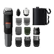 Multigroom series 5000 11-i-1, grooming kit för ansikte, hår och kropp