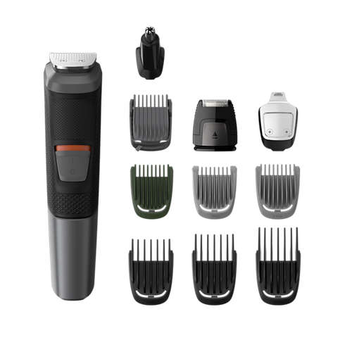Multigroom series 5000 11 in 1, Barba, capelli e corpo