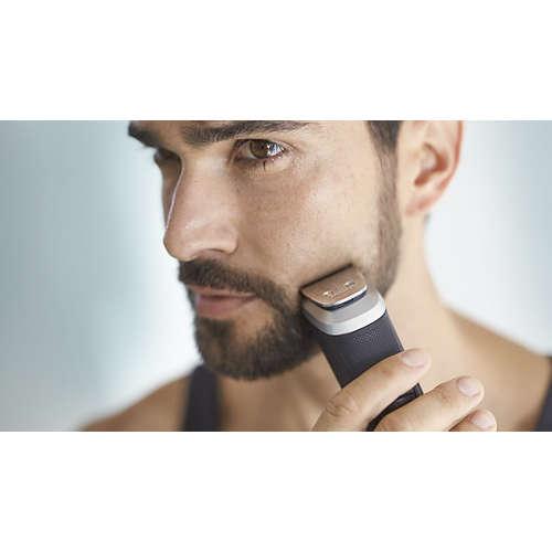 Multigroom series 5000 12 in 1, Barba, capelli e corpo