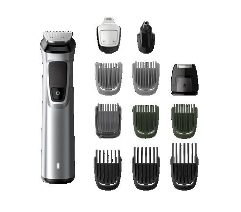 0556f3086 Multigroom series 7000 12-em-1, rosto, cabelo e corpo MG7710/15 ...