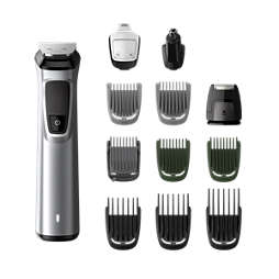 Multigroom series 7000 12-i-1, grooming kit för ansikte, hår och kropp