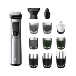 Multigroom series 7000 13-in-1, kasvot, hiukset ja vartalo