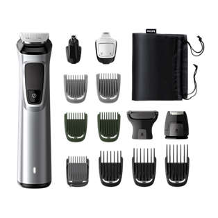 Multigroom series 7000 14 in 1, Barba, capelli e corpo