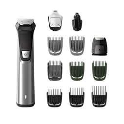 Multigroom series 7000 12-v-1, obrazne dlake, lasje in dlake po telesu