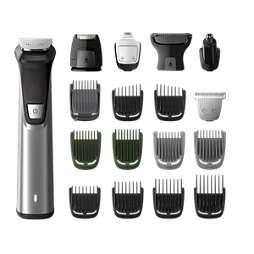 Multigroom series 7000 18v1, tvár, vlasy achĺpky na tele