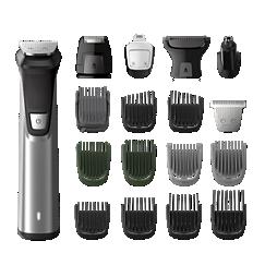 Multigroom series 7000 18-i-1, grooming kit för ansikte, hår och kropp