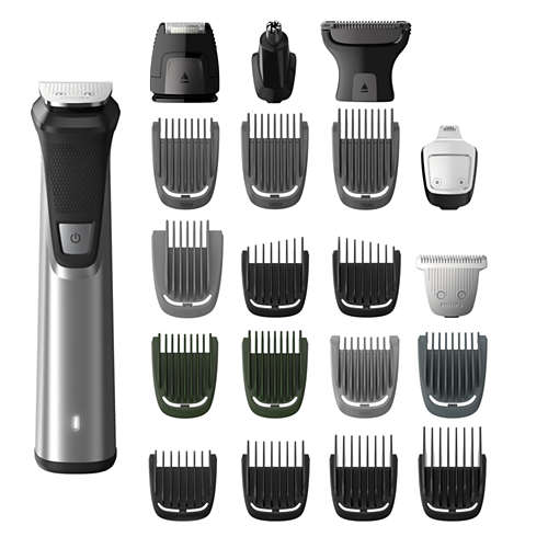 Multigroom series 7000 18-en-1 Visage, Cheveux et Corps