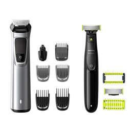 Multigroom series 9000 12 v 1, obrazne dlačice, lasje in dlačice po telesu