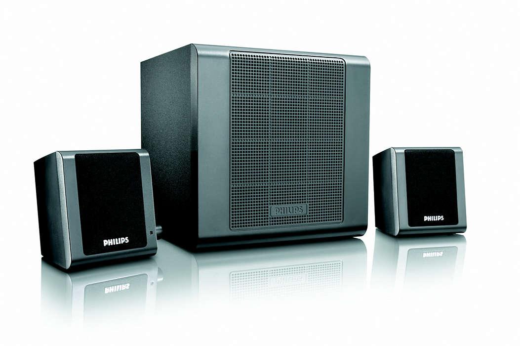 Güçlü stereo ses kalitesi