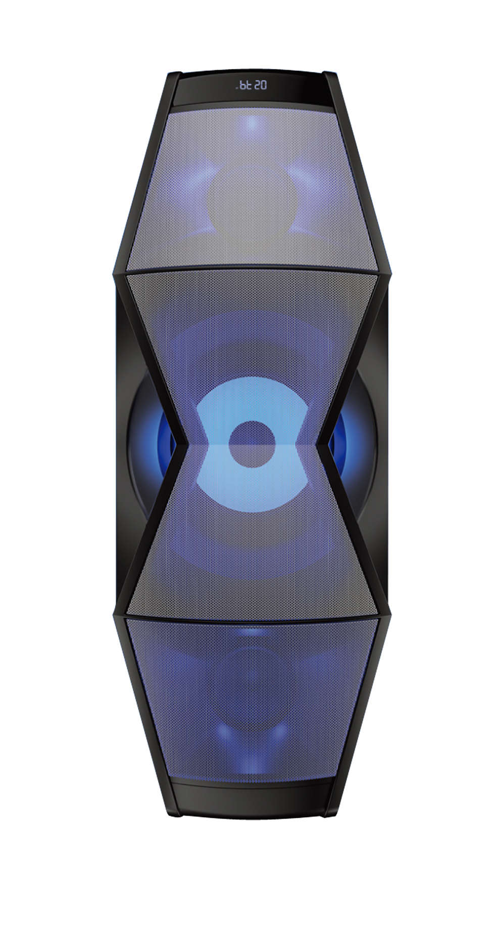 Integrated Speaker for Music & Movies