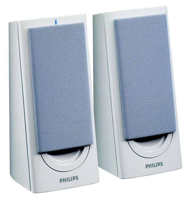 L'audio stereo di cui ti puoi fidare.