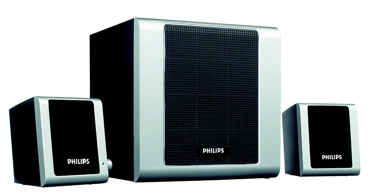 Philips Multimedia Speakers 2.0 MMS231