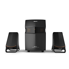 MMS2550B/94  Multimedia Speakers 2.1