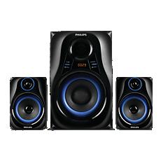 MMS2580B/94  Multimedia Speakers 2.1
