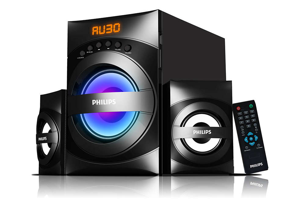 Party with dynamic sound and light