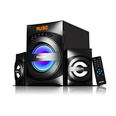MMS3535F/94 -    Multimedia Speakers 2.1