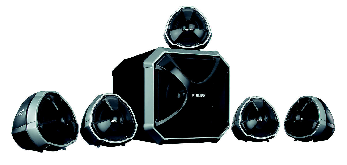 Hi-fidelity surround sound