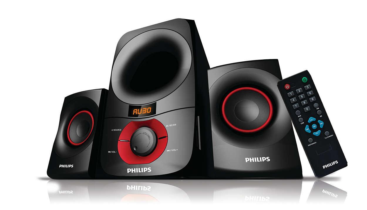 d98fcef6f Multimedia Speakers 2.1 MMS6060F 94