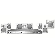 MX2600/55  Sistema de Home Theater con DVD